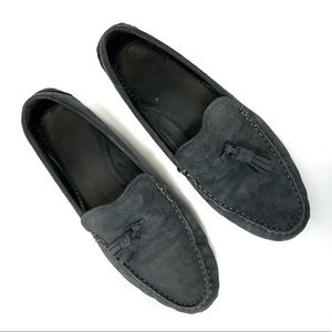 Cole Haan navy driving shoes. Size 8